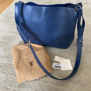 Authentic Louis Vuitton Large crossbody tote